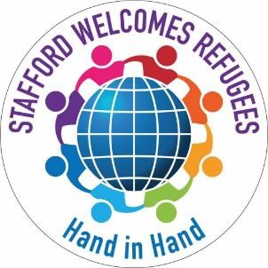 Work with refugees in Stafford, England
